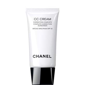 Chanel Cc Cream, Complete Correction Sunscreen Broad Spectrum Spf 50 30 Beige