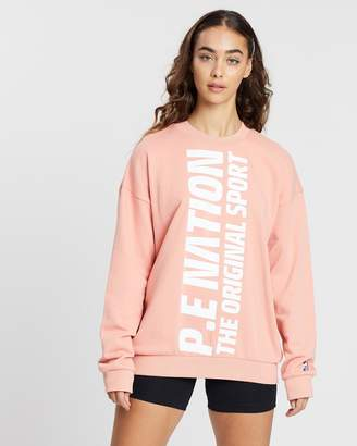 P.E Nation ICONIC EXCLUSIVE - Amped Up Sweater