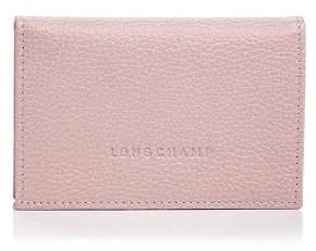 Longchamp Flap Leather Card Case