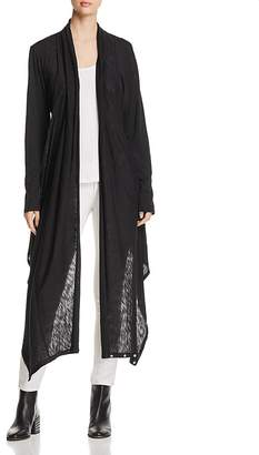 Elan International Asymmetric Duster Cardigan