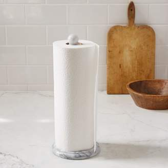 west elm Marble Paper Towel Holder