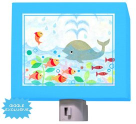 Happy Whaley Nightlight