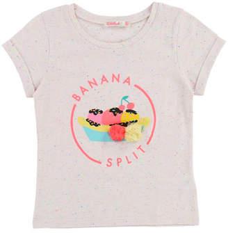 Billieblush Short-Sleeve Banana Split T-Shirt, Size 2-8