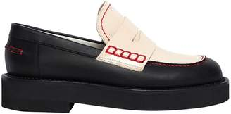 Marni 30mm Two Tone Leather Loafers