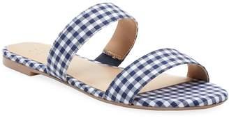 ALEX+ALEX Women's Gingham Two-Strap Sandal