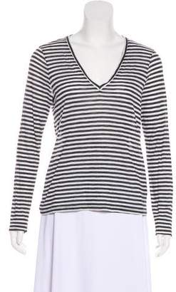 J Brand Long-Sleeve Striped Top