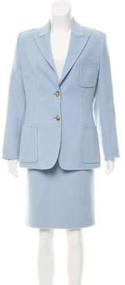 Michael Kors Wool & Cashmere Skirt Suit