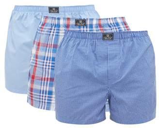 Polo Ralph Lauren Pack Of Three Cotton Boxer Shorts - Mens - Multi