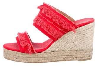 Castaner Woven Slide Sandals