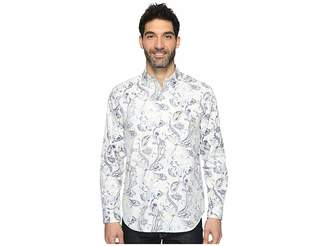Tommy Bahama Paulo Paisley Long Sleeve Woven Shirt Men's Long Sleeve Button Up