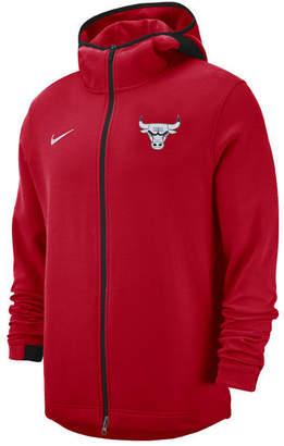 Nike Men's Chicago Bulls Dry Showtime Full-Zip Hoodie