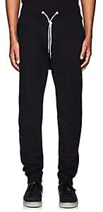 Rag & Bone Men's Cotton Drawstring-Waist Sweatpants-Black