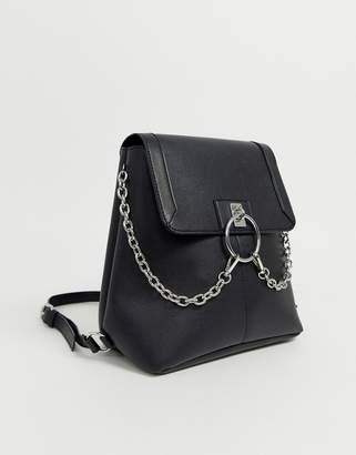 Asos Design DESIGN ring festival backpack