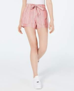 Planet Gold Juniors' Cotton Paperbag Soft Shorts