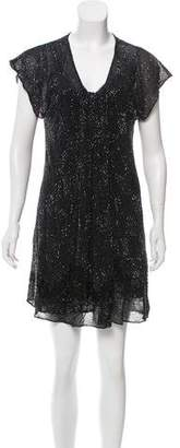 AllSaints Janine Silk Dress w/ Tags