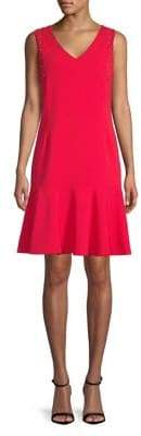 Ellen Tracy Sleeveless Fit-and-Flare Dress