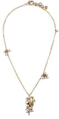Lulu Frost Women Gold Plated Pendant Necklace of Length 46cm N817