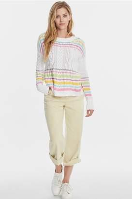525 America Pastel Stripe Sweater