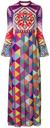 Mary Katrantzou geometric print maxi dress