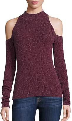 Bailey 44 Women's Inspire Cold-Shoulder Mockneck Sweater