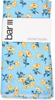Bar III Men Wakely Floral Silk Pocket Square