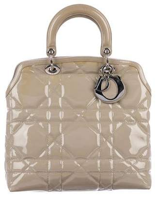 Christian Dior Cannage Granville Satchel