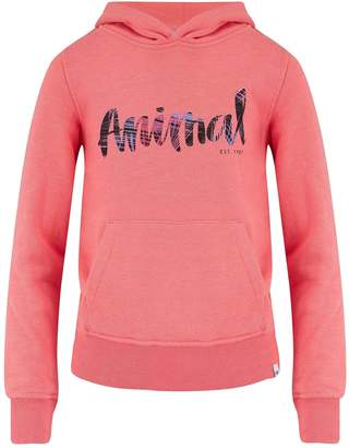 Animal Girls Sunkissed Orange Marl Hoodie