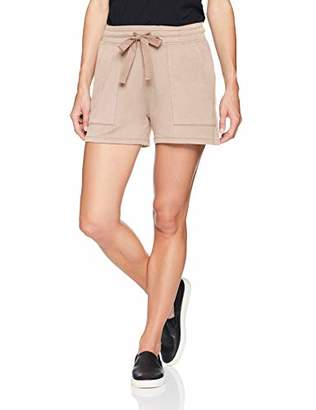 Daily Ritual Women's Supersoft Terry Patch-Pocket Short