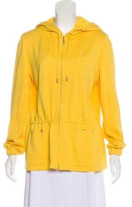 St. John Wool Hooded Jacket