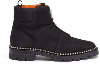 Alexander Wang 'Cooper' ball chain trim zip nylon boots