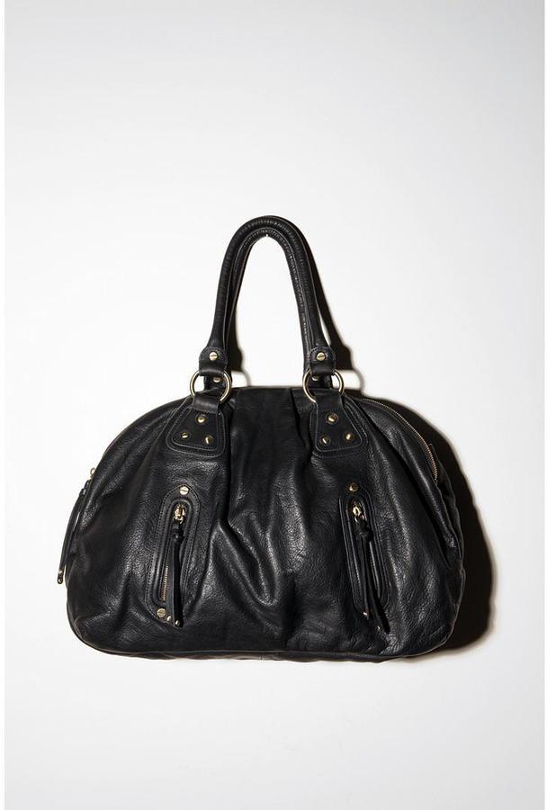 Sabina Pleated Double Zip Doctor Bag