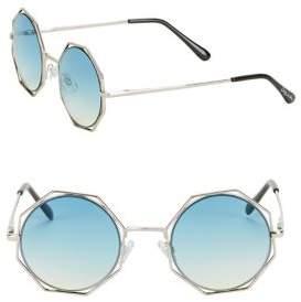 Sam Edelman 48MM Octagon Sunglasses