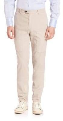 Brunello Cucinelli Men's Para New Cargo Pocket Pants - Stone - Size 56 (40)