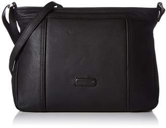 Bodenschatz Women M-225 RN_33x24x9 cm Hobos and Shoulder Bag Black Size: