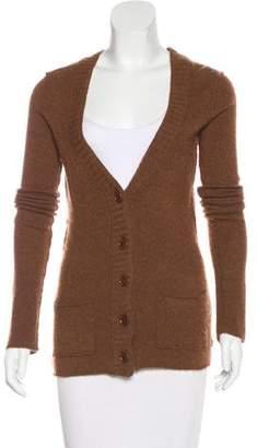 Inhabit Long Sleeve Cashmere-Blend Cardigan