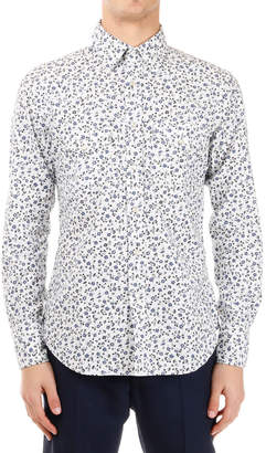 Tom Ford (トム フォード) - TOM FORD 花柄 フラップ胸ポケット 長袖シャツ フローラルプリント 39