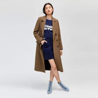 Warehouse Full Length Check Coat