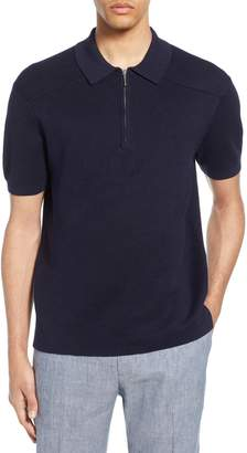 Club Monaco Milano Zip Polo