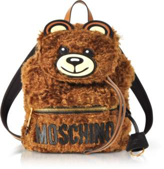 Moschino Teddy Bear Fleece Backpack