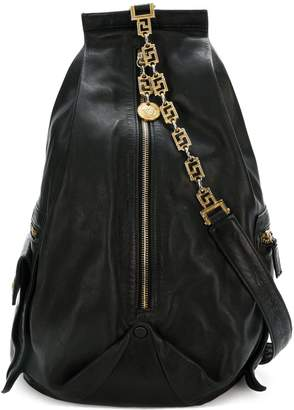 Versace Pre-Owned chain strap backpack