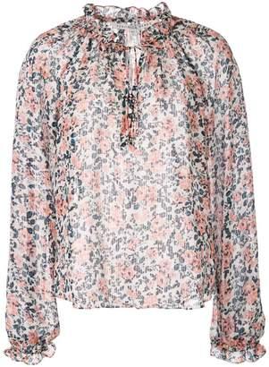 Veronica Beard floral printed blouse