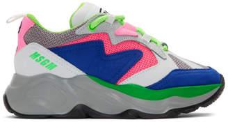 MSGM Multicolor Attack Sneakers