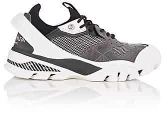 Calvin Klein Women's Rubber-Strap Leather Sneakers - Gray
