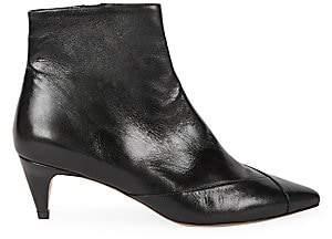 Isabel Marant Women's Durfee Leather Booties