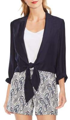 Vince Camuto Mystic Blooms Open-Front Jacket