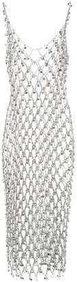 Paco Rabanne Embellished chain-link dress