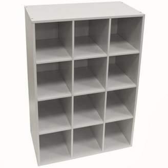 Pigeon WATSONS Watsons Hole - Shoe Storage / Display / Media Shelves - White