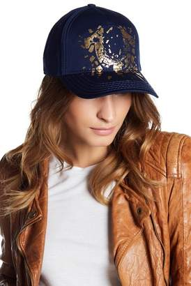 True Religion Shattered Horseshoe Baseball Cap
