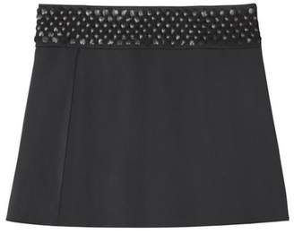 Farah Semsem Embroidered Skirt