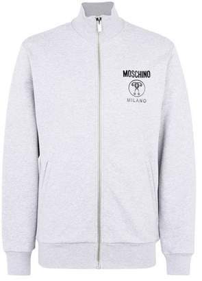 Moschino OFFICIAL STORE Zip sweatshirt